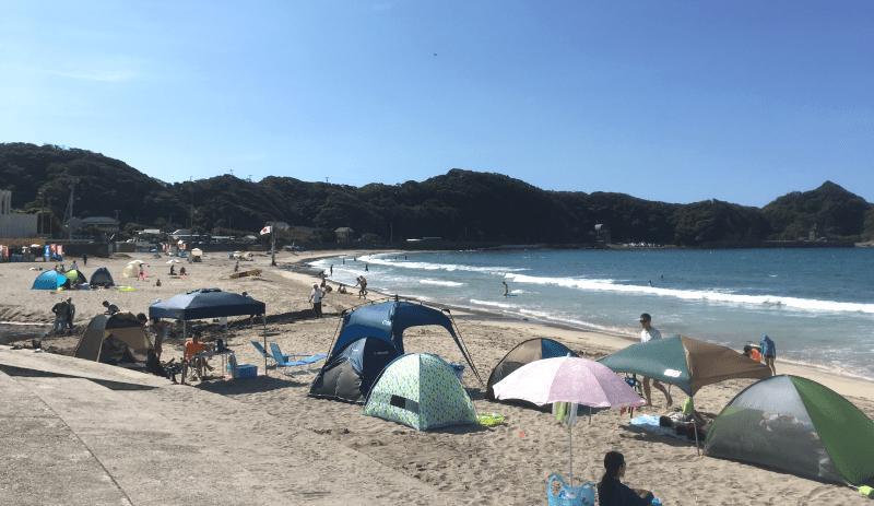 鵜原海岸海水浴場
