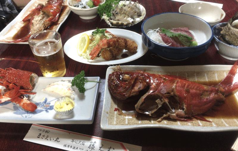 藤えむ・豪華料理