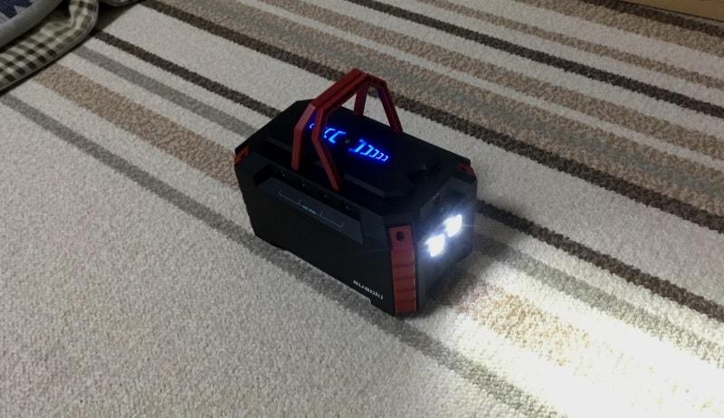 緊急時にも重宝LEDライト