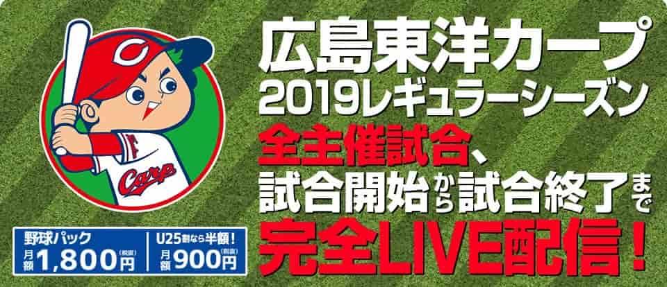 【J SPORTSオンデマンド】広島の主催試合が観れる