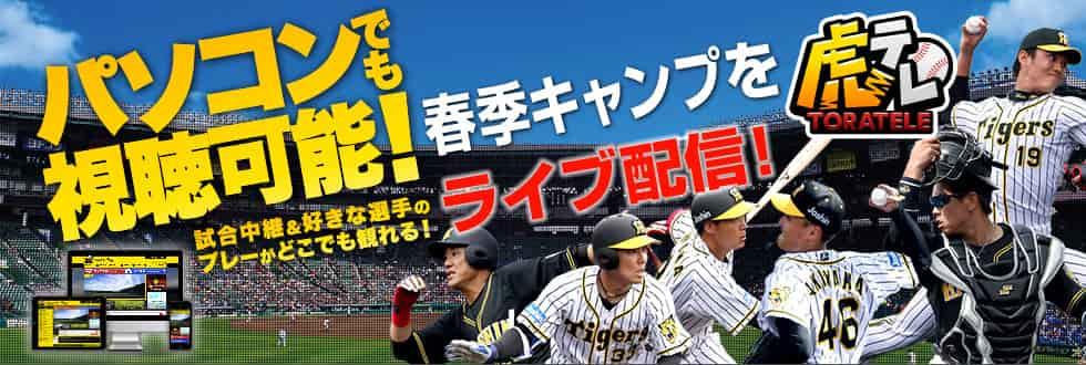 虎テレ:阪神タイガース主催試合が観れる
