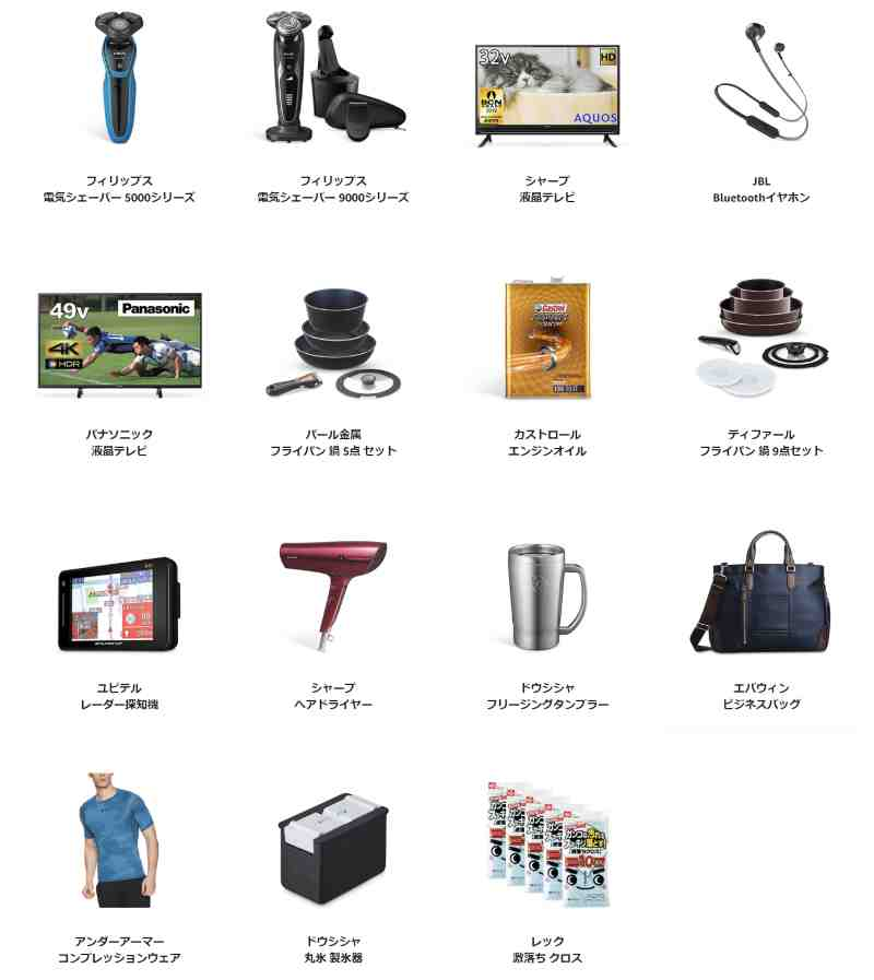 Amazonタイムセール祭りの目玉商品情報