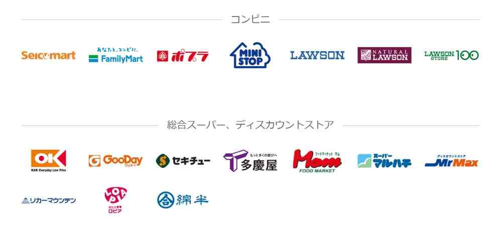 PayPayの使えるお店(加盟店)