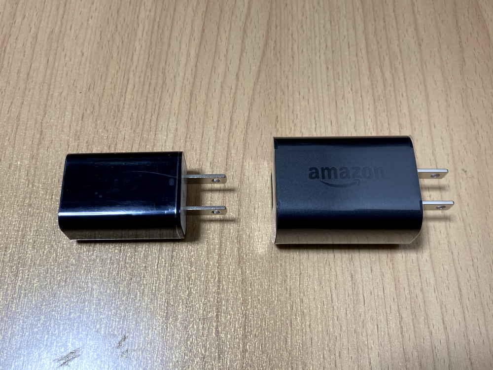 Fire HD8 / Plusの付属品