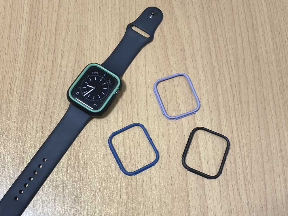 RhinoShield Apple Watch用バンパーケース