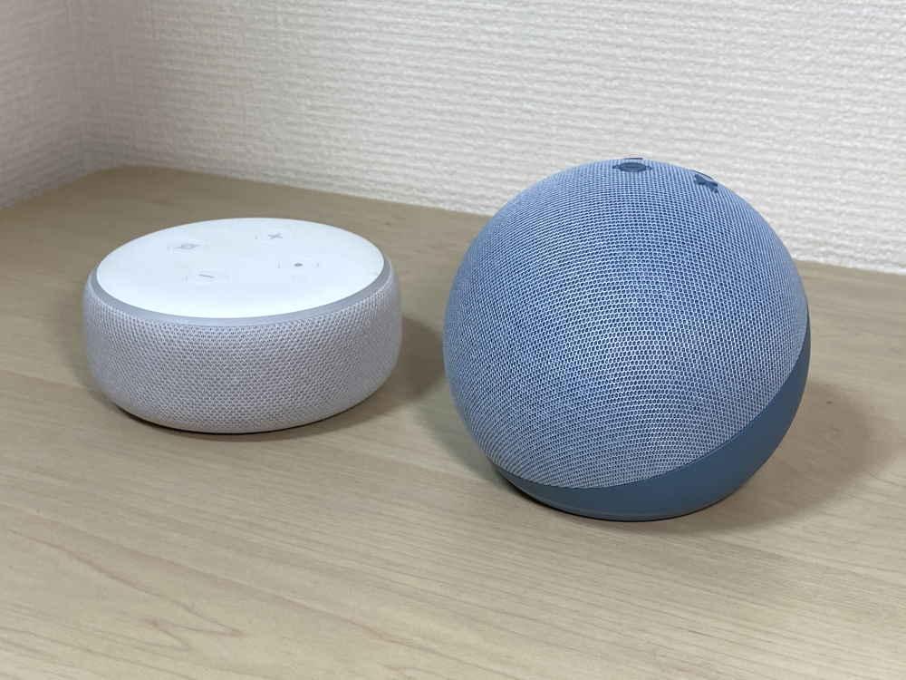 Echo Dotの外観