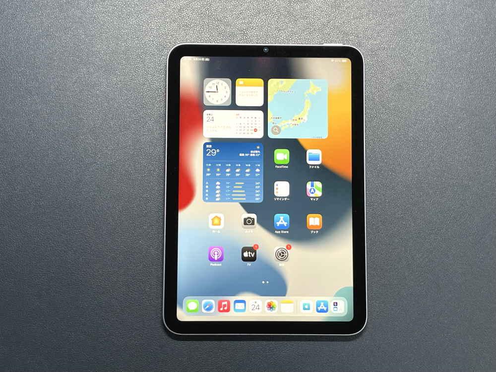 iPad mini6の外観